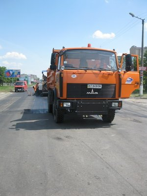 У Франківську ремонтують вулиці Дністровську і Надрічну