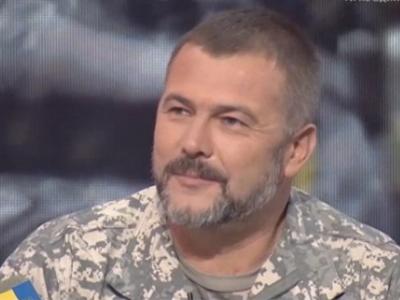"""Комбат батальйону """"Дніпро-1"""" Юрій Береза."""