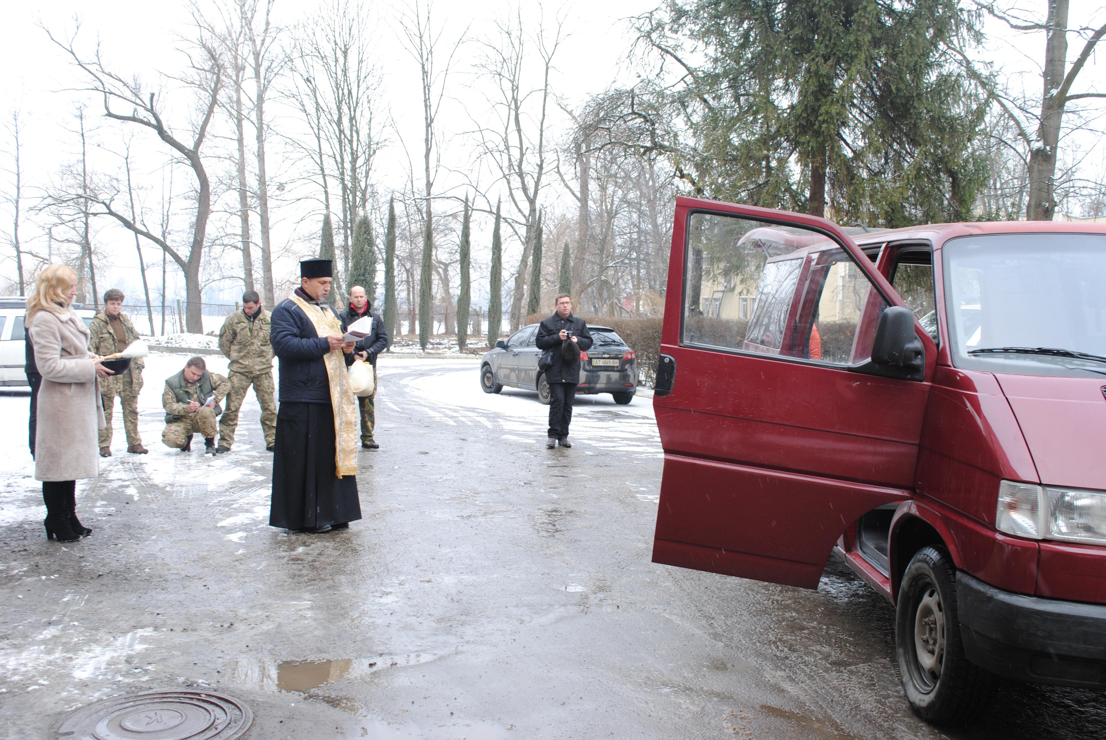 «айдар» передали реанімобіль (фото