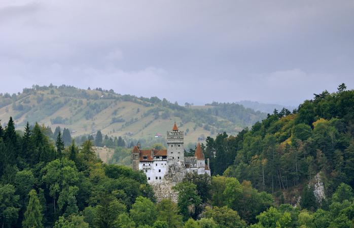 Bran Castle in summer time - Brasov, Romania